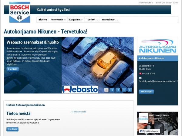 autokorjaamonikunen.fi