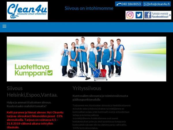 clean4u.fi