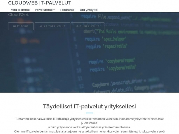 cloudweb.fi