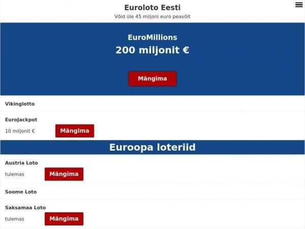 ee.eurooppalotto.eu