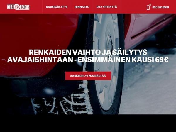 kirjorengas.fi