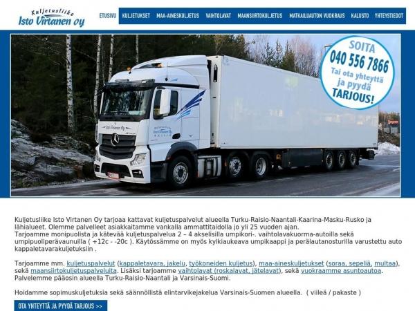 kuljetusliikeistovirtanen.fi
