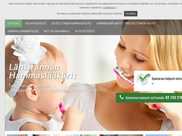 lansirannanhammaslaakarit.fi