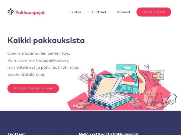 pakkauspojat.fi