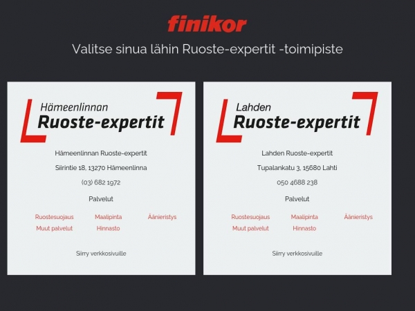 ruoste-expertit.fi