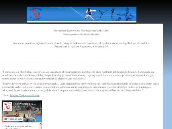 taekwondonurmijarvi.fi
