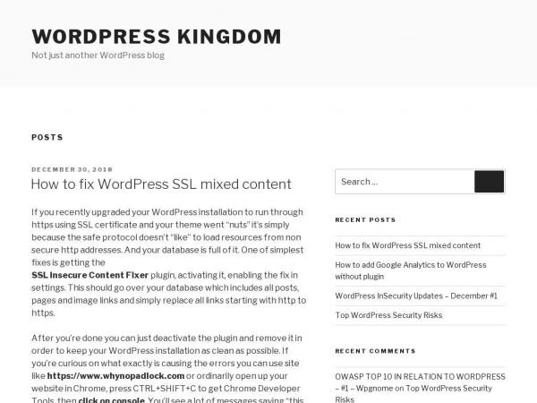 wordpresskingdom.com